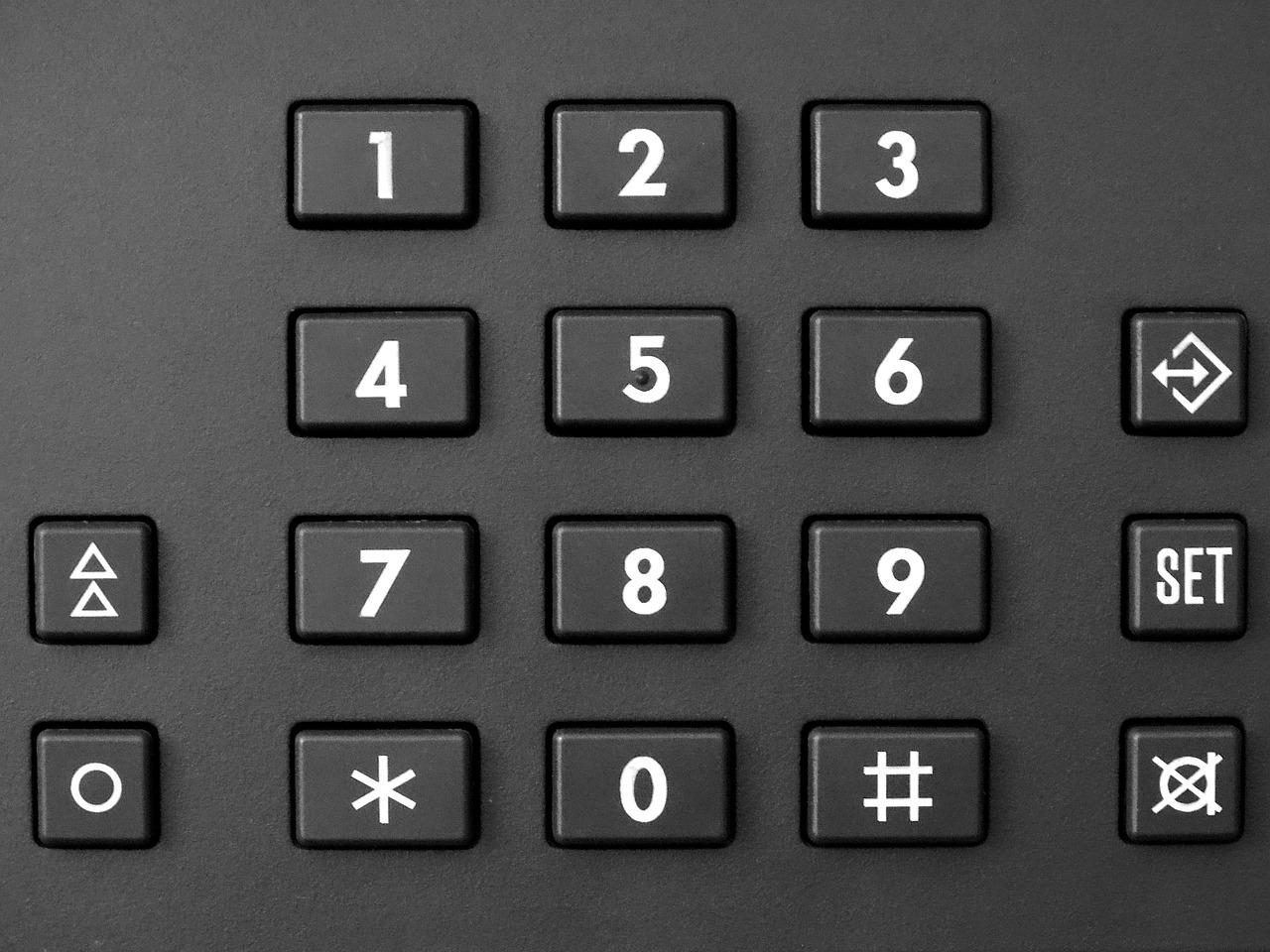 čísla na telefonu