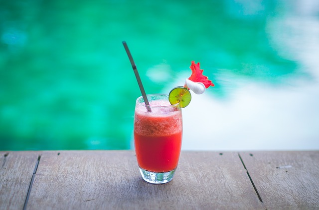 smoothie drink u vody